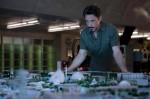 Downey as Stark